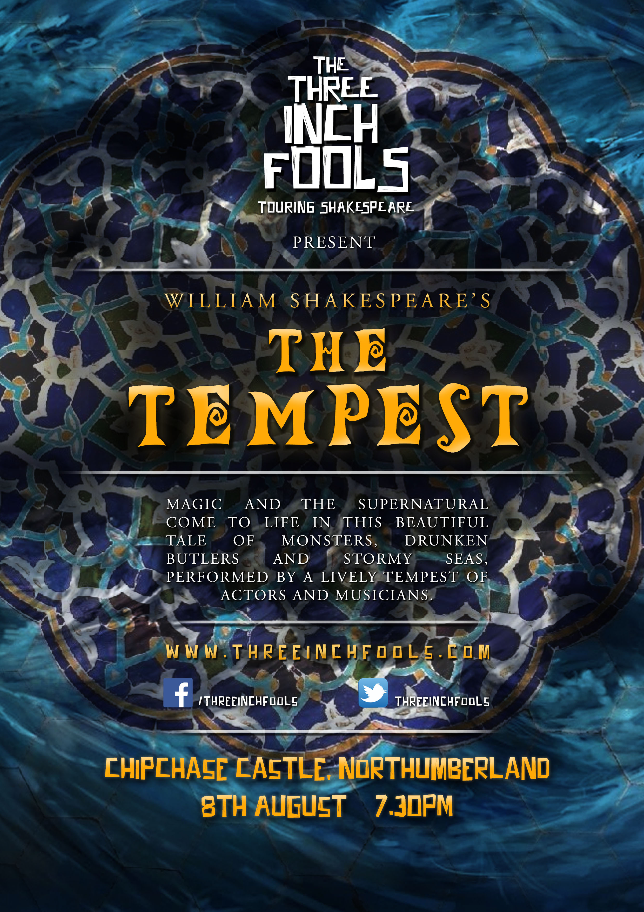 William Shakespear's The Tempest poster